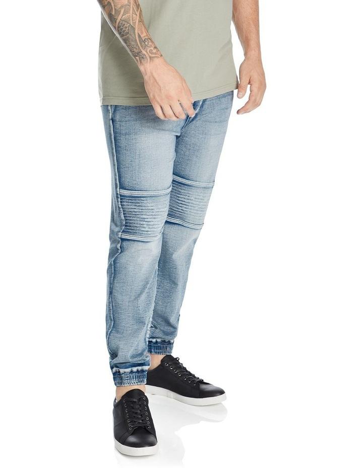 Marlee Stretch Knit Cuff Jean image 2