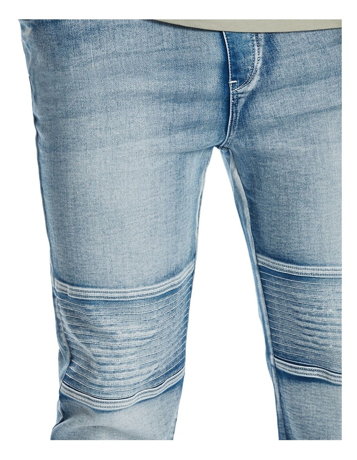 Marlee Stretch Knit Cuff Jean image 3