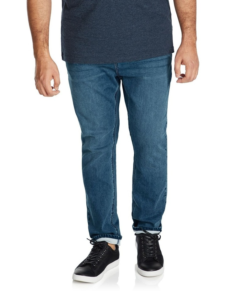 Enzo Tapered Knit Jean image 1