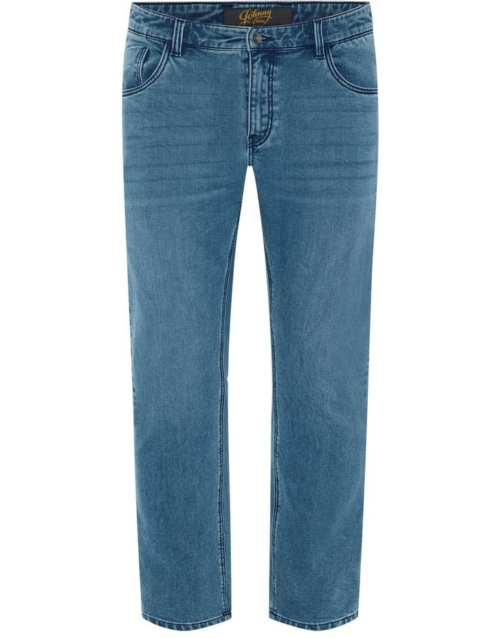 Enzo Tapered Knit Jean image 5