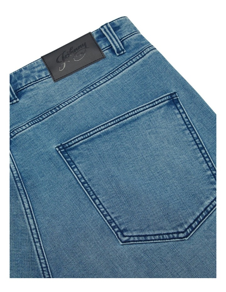 Enzo Tapered Knit Jean image 7