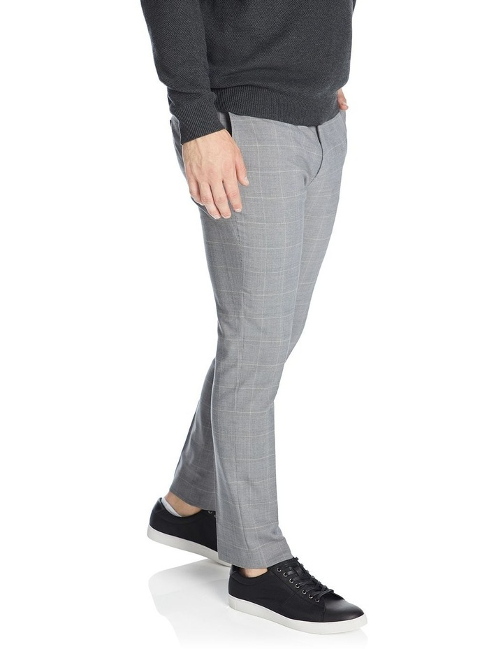 Chaz Check Stretch Smart Trouser image 2