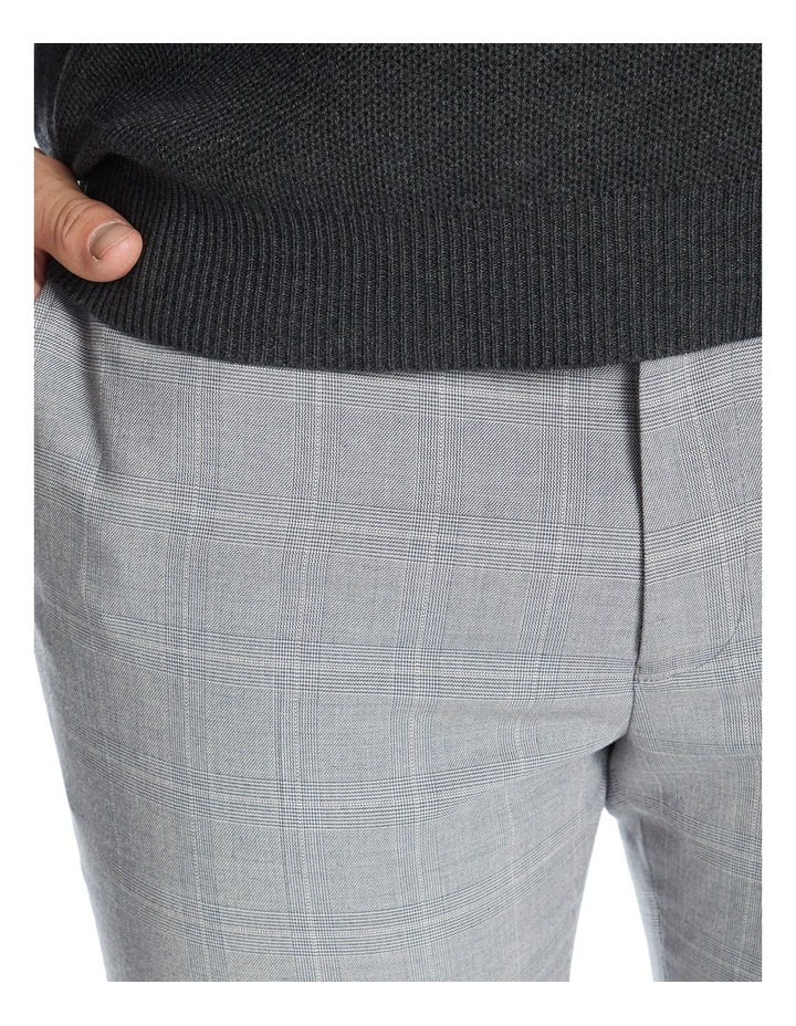Chaz Check Stretch Smart Trouser image 3