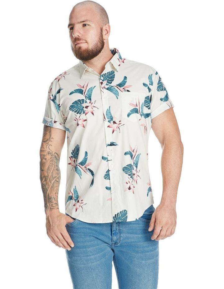 Otis Hawaiian Print Stretch Shirt image 1