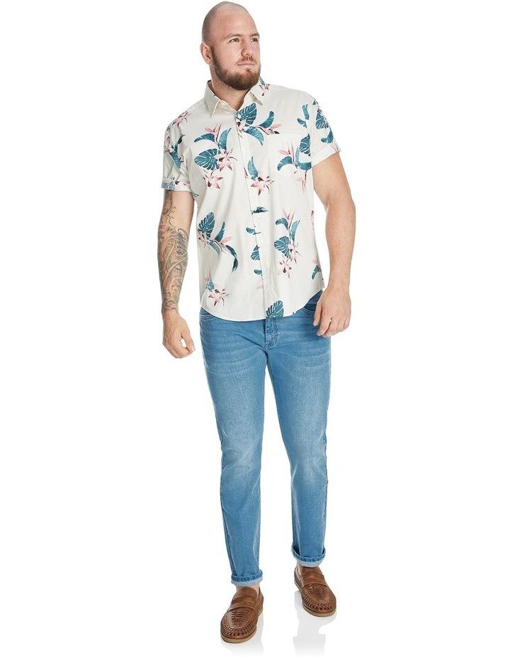Otis Hawaiian Print Stretch Shirt image 4