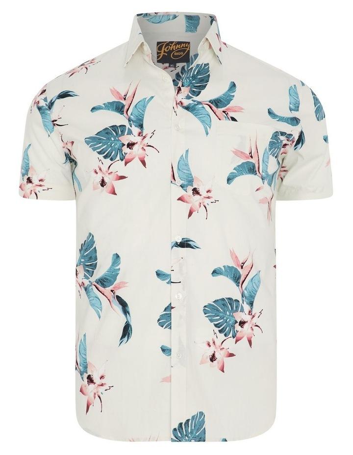 Otis Hawaiian Print Stretch Shirt image 5