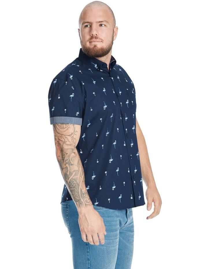Flamingo Palm Stretch Shirt image 2