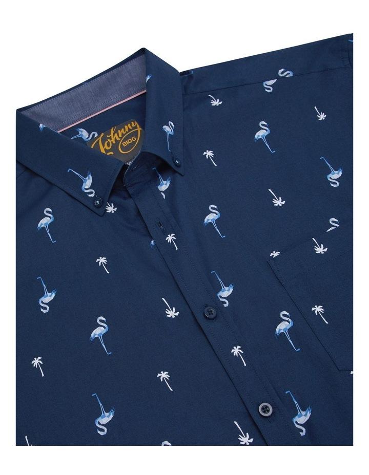 Flamingo Palm Stretch Shirt image 7
