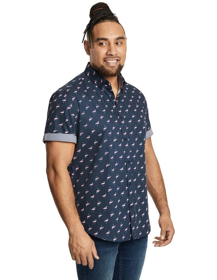 Flamingo Print Shirt image 2