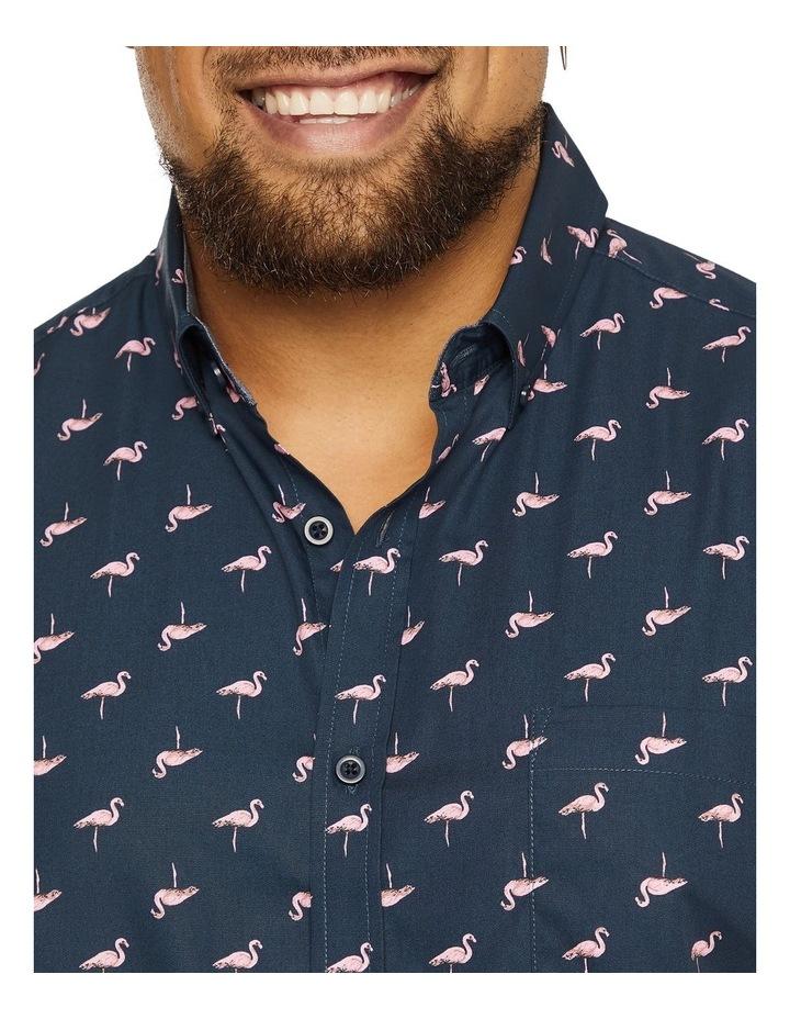 Flamingo Print Shirt image 3