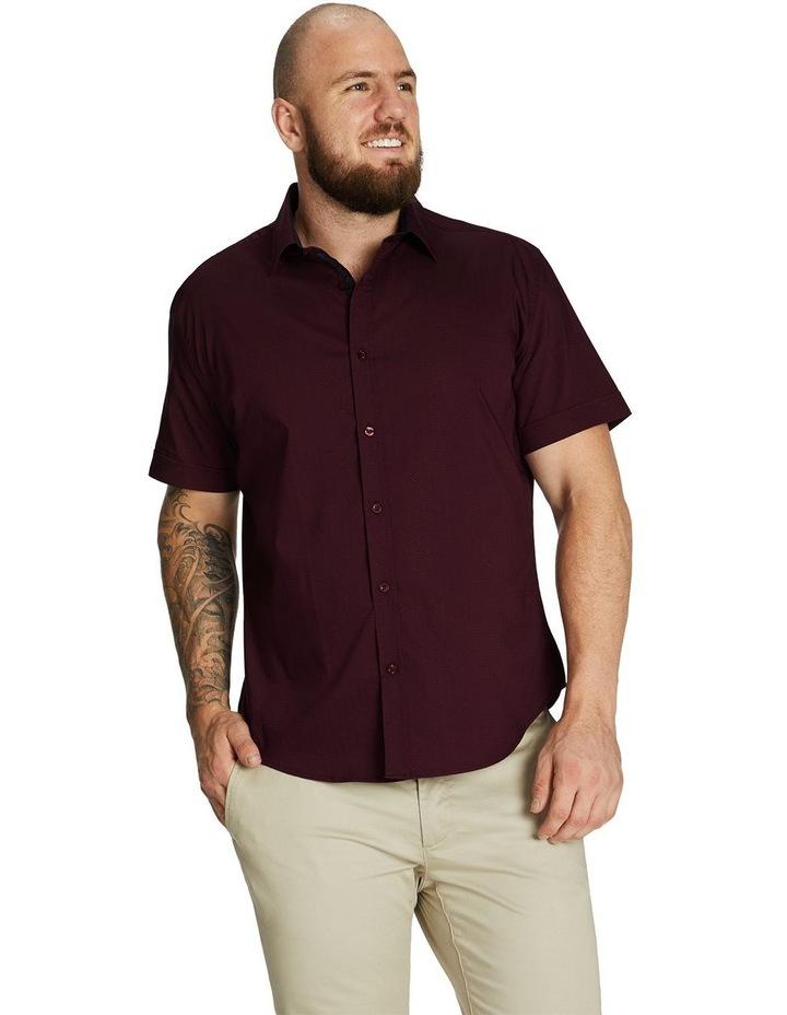 Emile Textured Stretch Shirt image 1