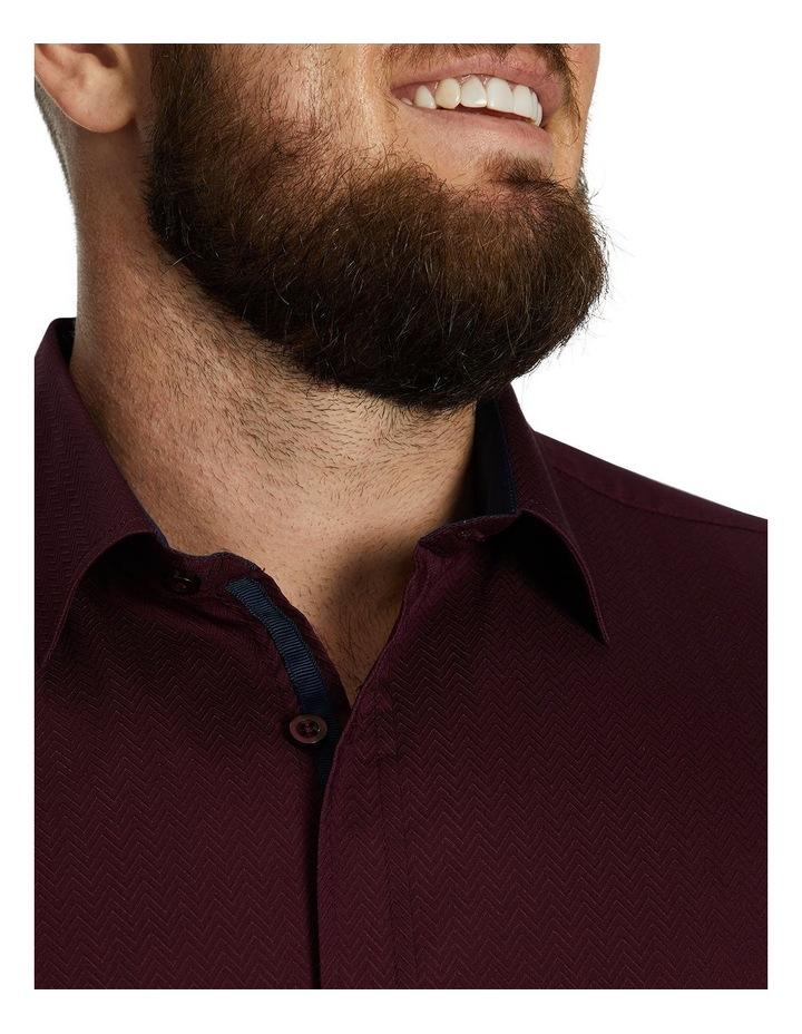 Emile Textured Stretch Shirt image 3