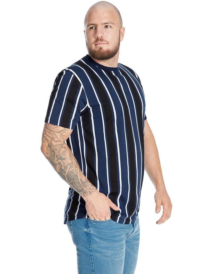 Vertical Stripe Longline Tee image 2