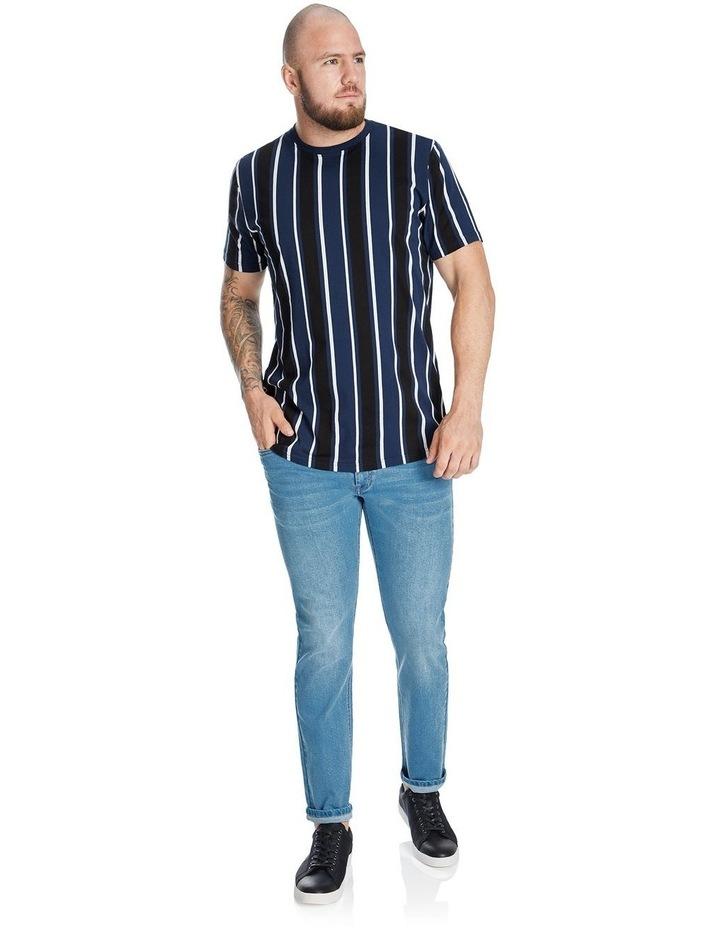Vertical Stripe Longline Tee image 3