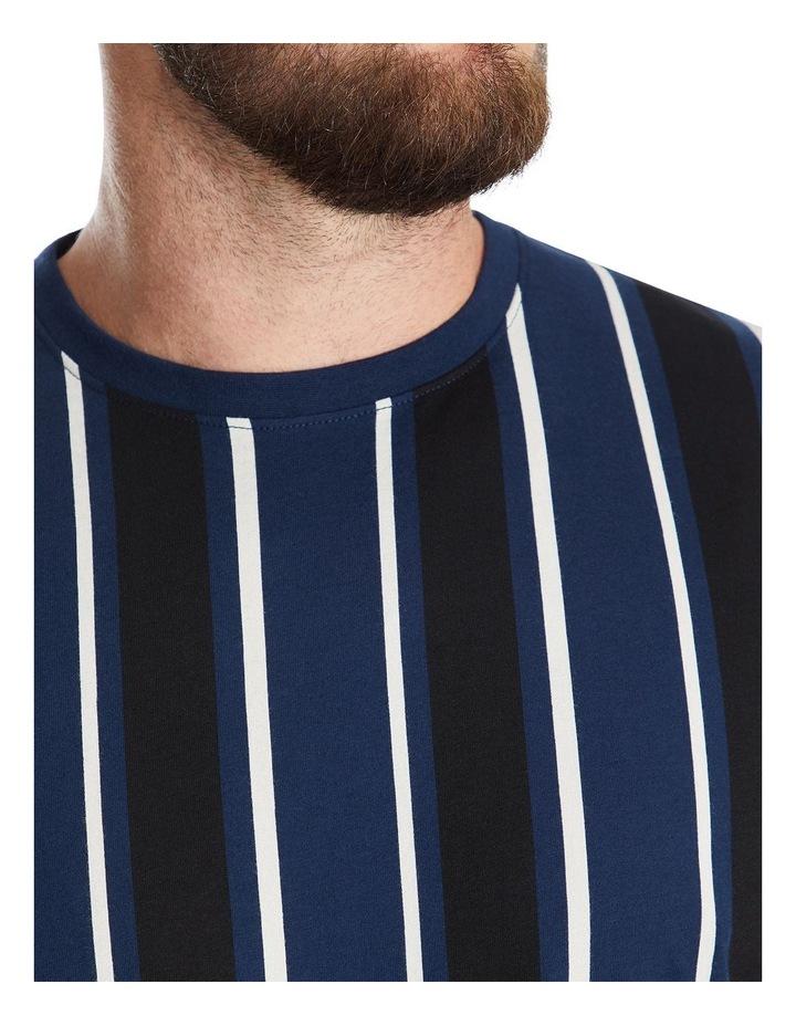 Vertical Stripe Longline Tee image 4