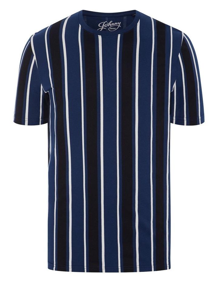 Vertical Stripe Longline Tee image 5