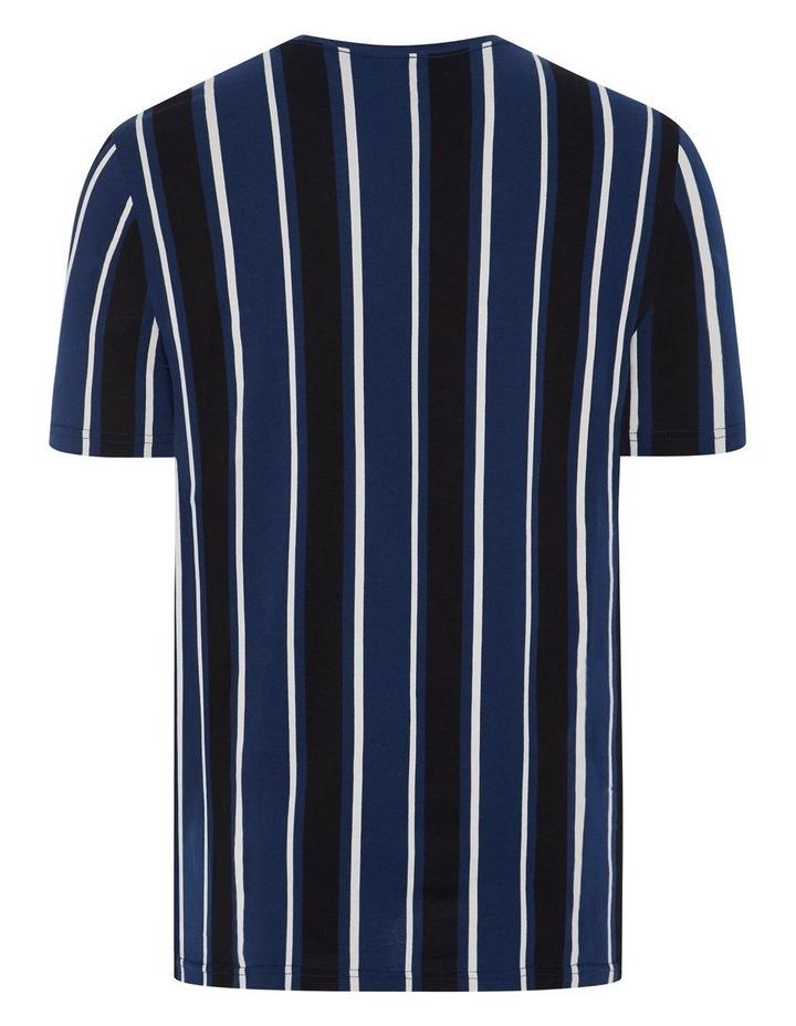 Vertical Stripe Longline Tee image 6