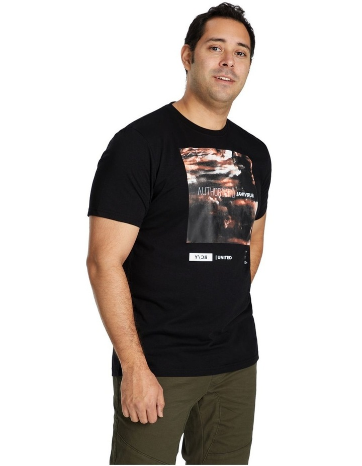 Systematic Print Crew Tee image 2