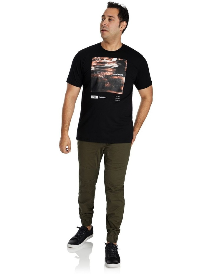 Systematic Print Crew Tee image 3