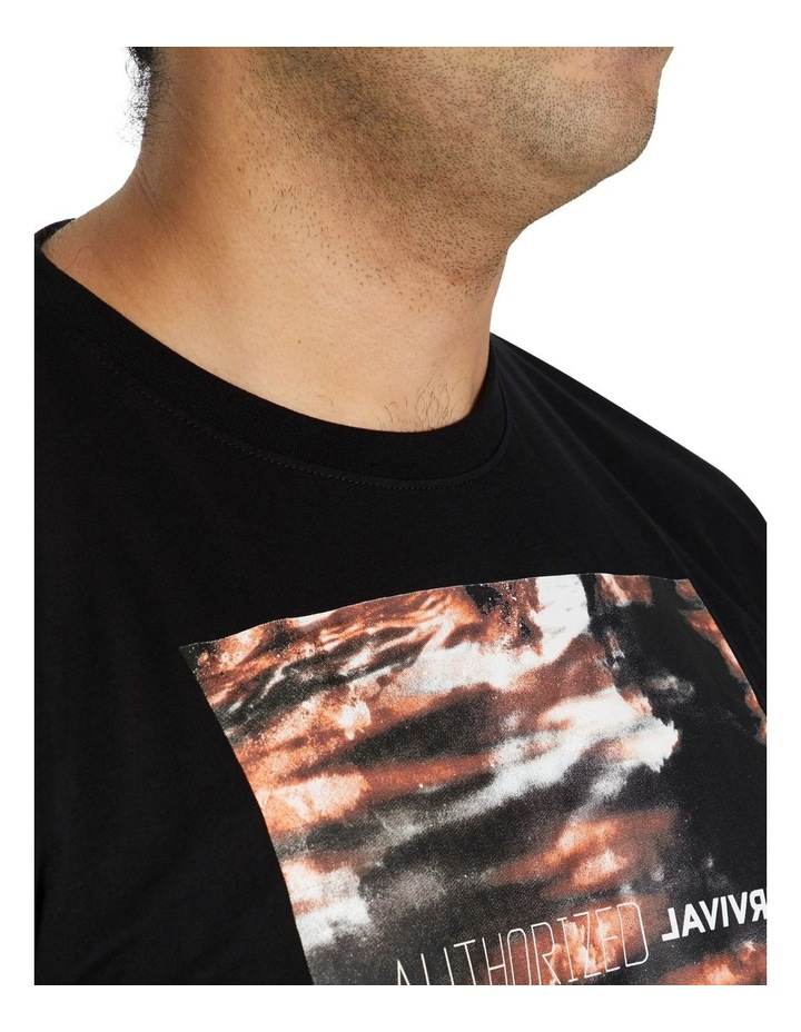 Systematic Print Crew Tee image 4