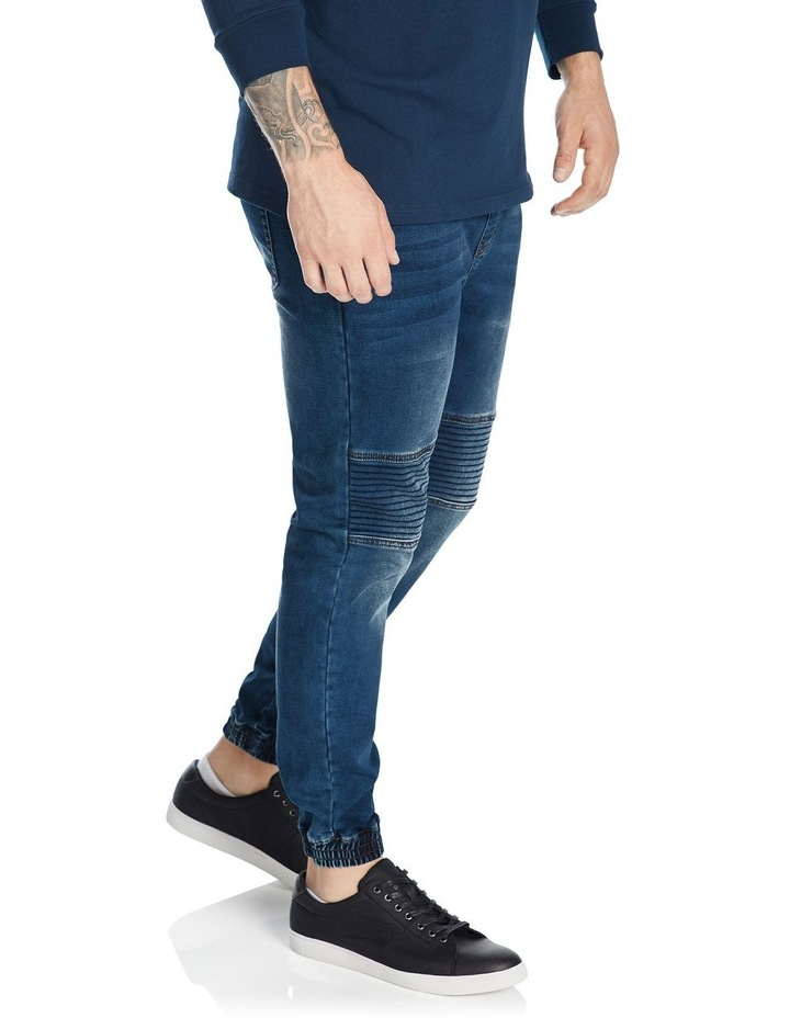 Marlee Stretch Knit Cuff Jean image 4