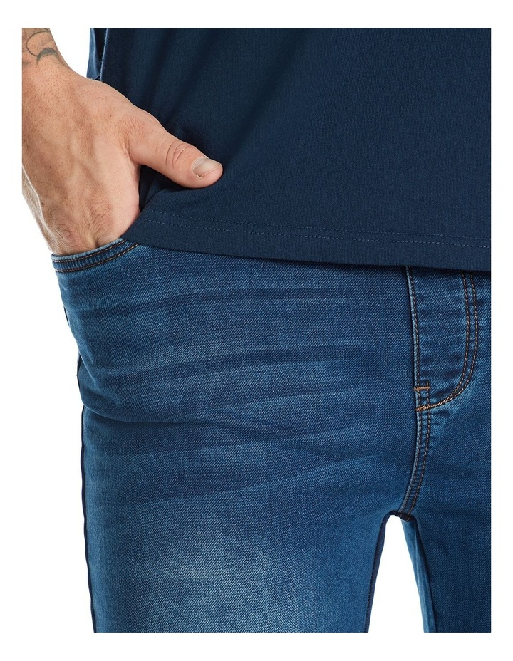 Marlee Stretch Knit Cuff Jean image 5