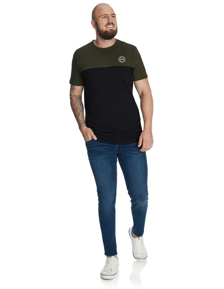 New York Splice Longline Scoop Tee image 3