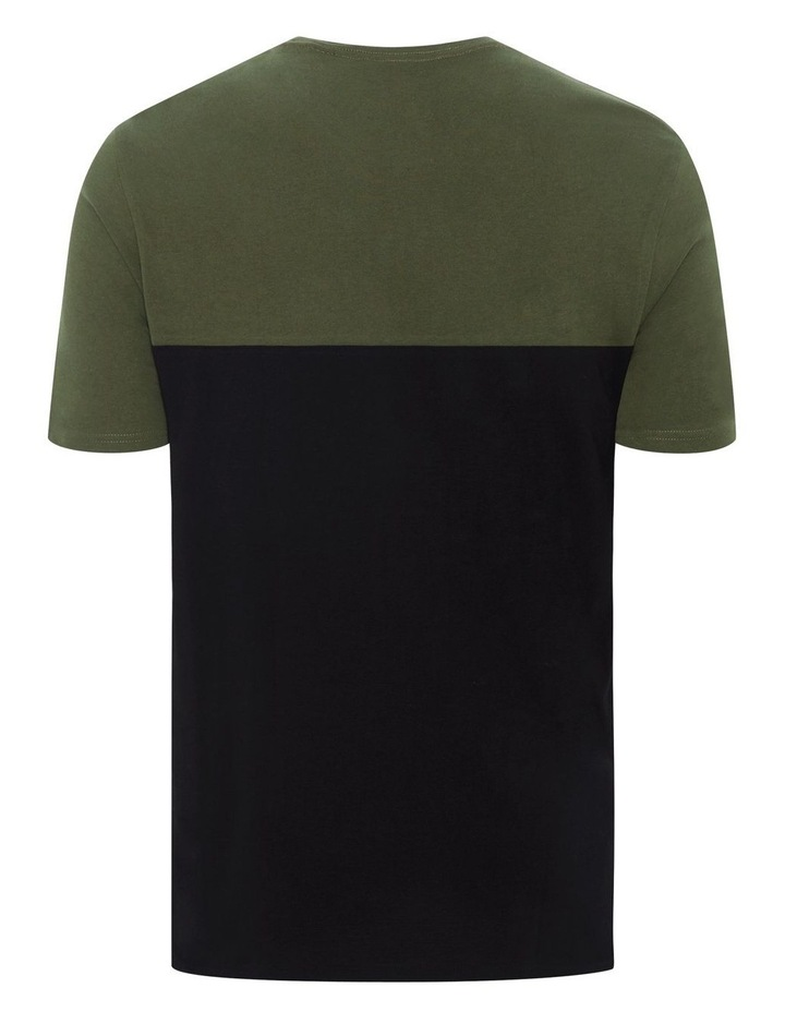New York Splice Longline Scoop Tee image 6