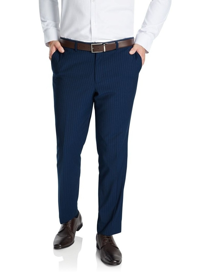 Harvey Pinstripe Stretch Elastic Pant image 1