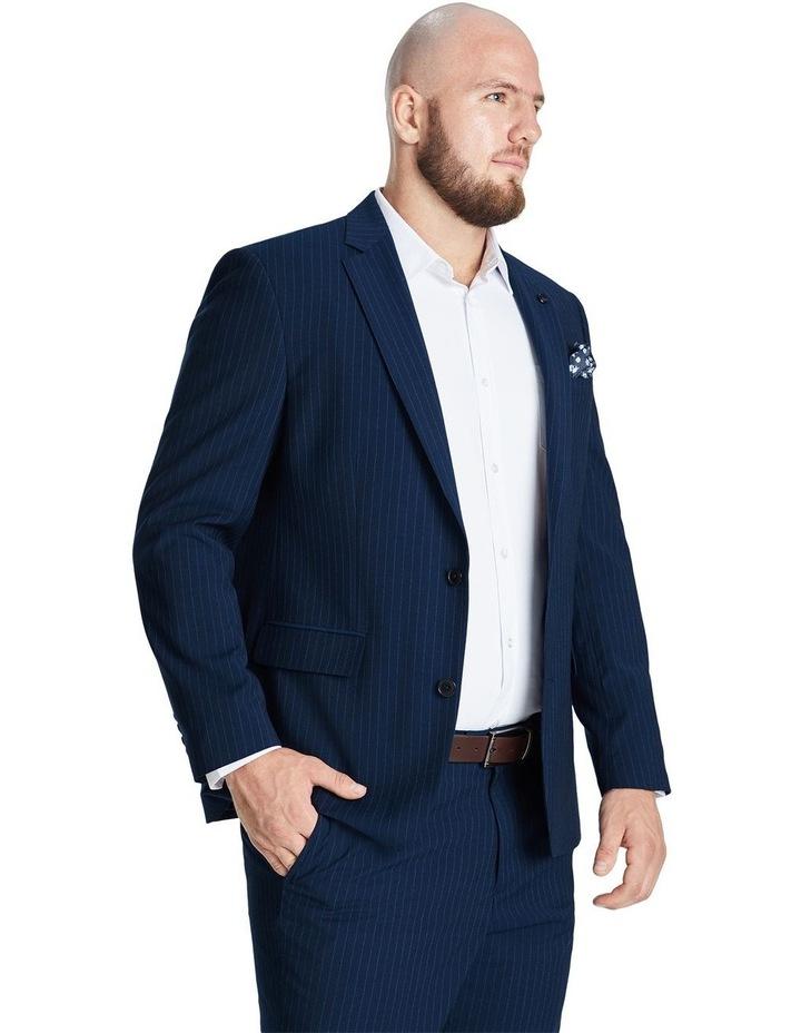 Harvey Pinstripe Stretch Suit Jacket image 2