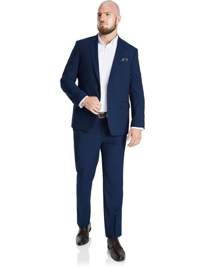 Harvey Pinstripe Stretch Suit Jacket image 3