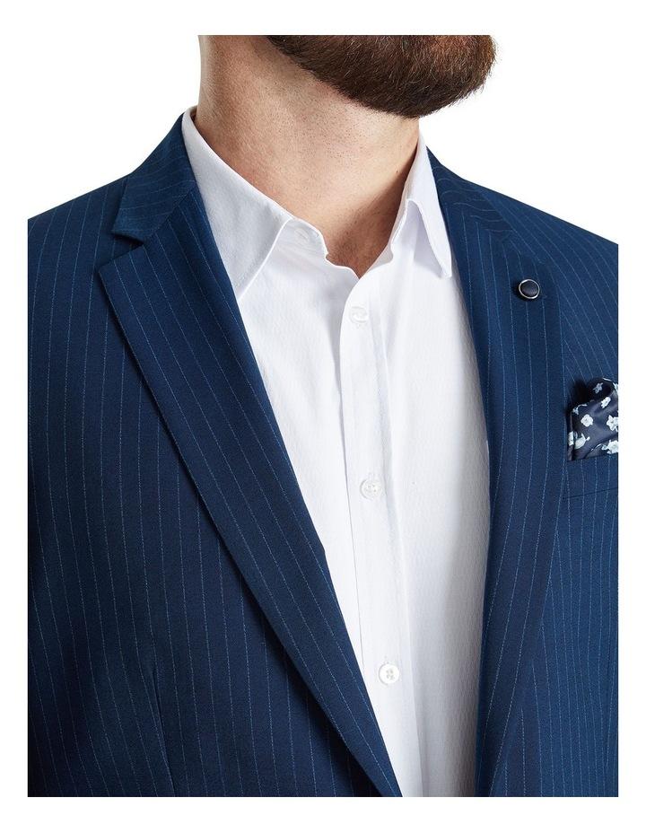 Harvey Pinstripe Stretch Suit Jacket image 4
