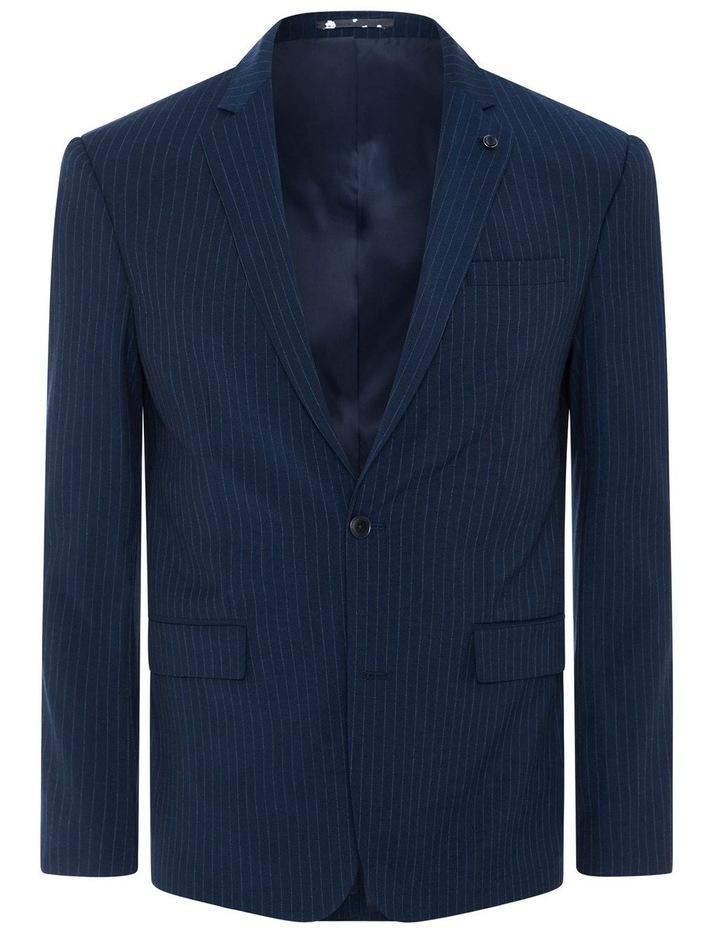 Harvey Pinstripe Stretch Suit Jacket image 6