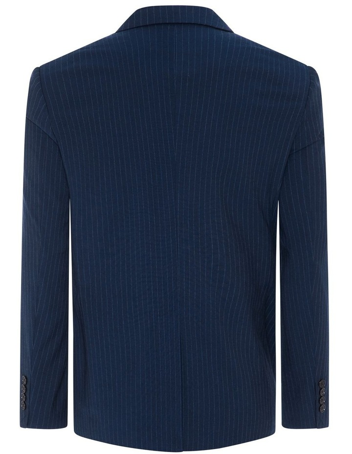 Harvey Pinstripe Stretch Suit Jacket image 7