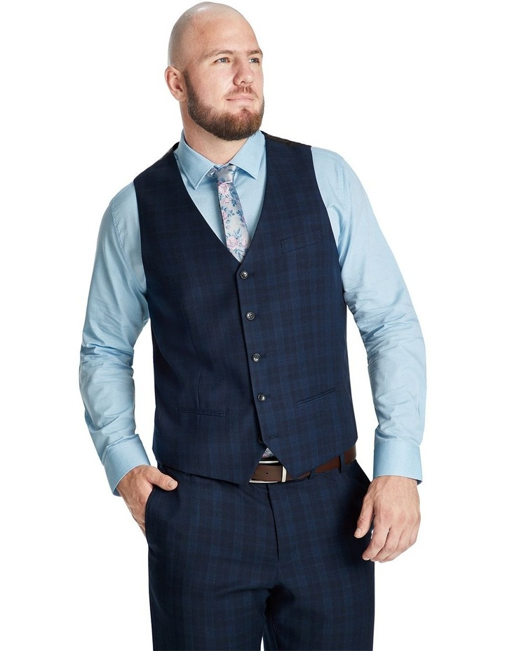 Collins Stretch Check Waistcoat image 1