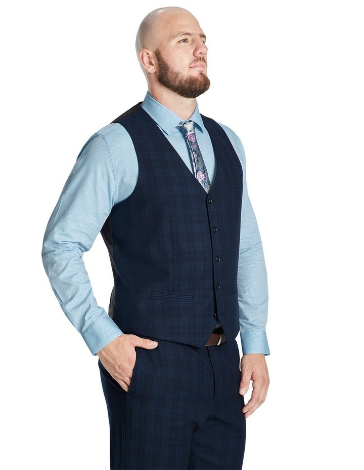Collins Stretch Check Waistcoat image 2