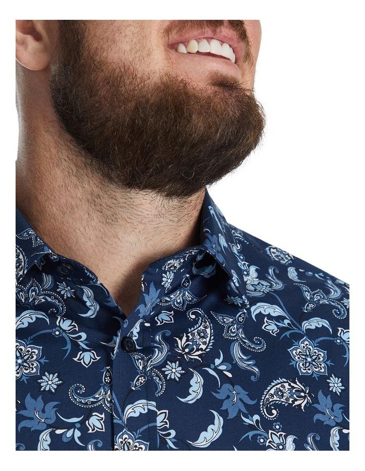 Sidney Print Stretch Shirt image 4