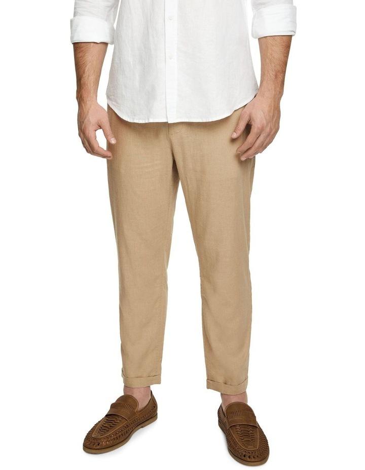The Jamie Linen Blend Pants image 1