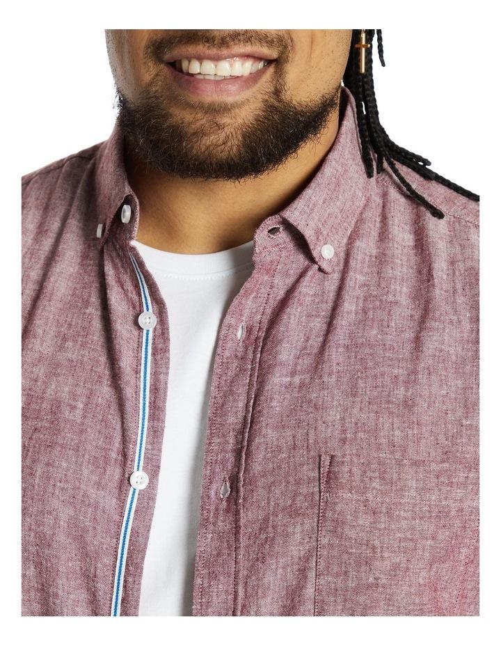 Serge Melange Linen Shirt image 3