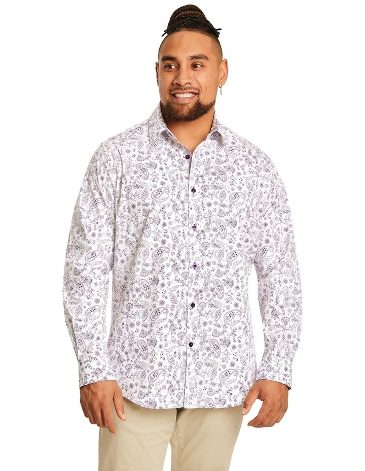 Hector Print Stretch Shirt image 1