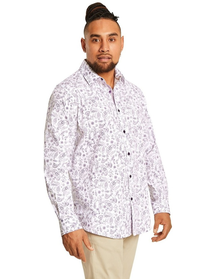 Hector Print Stretch Shirt image 2