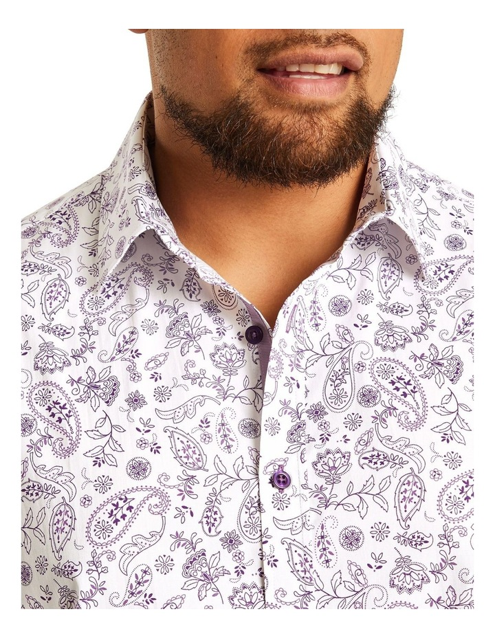 Hector Print Stretch Shirt image 3