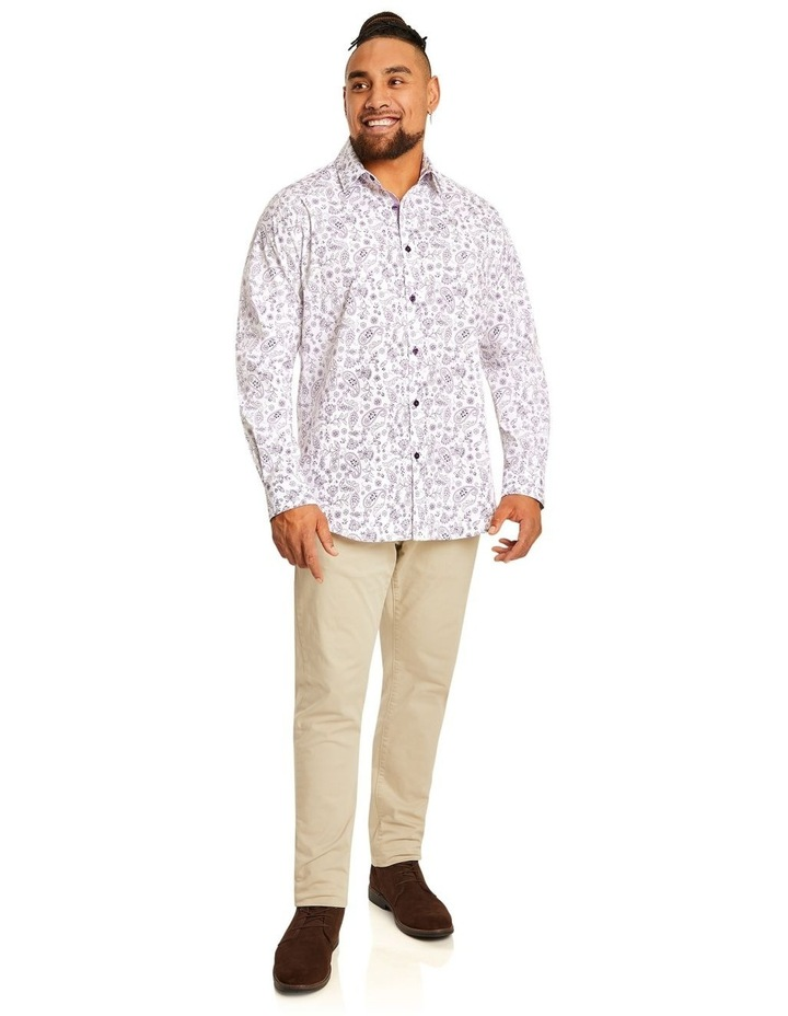 Hector Print Stretch Shirt image 4