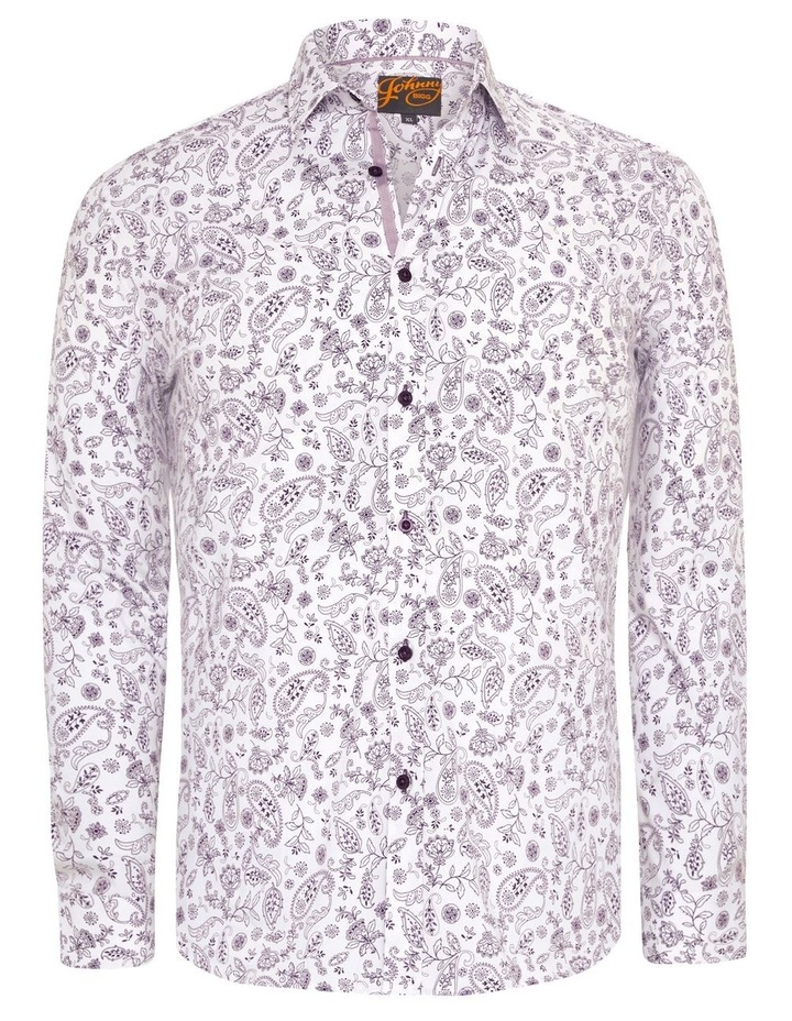 Hector Print Stretch Shirt image 5