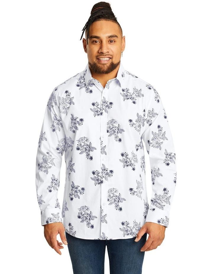 Ruben Floral Stretch Shirt image 1