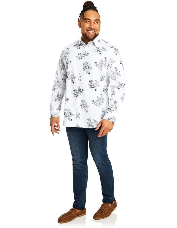 Ruben Floral Stretch Shirt image 4