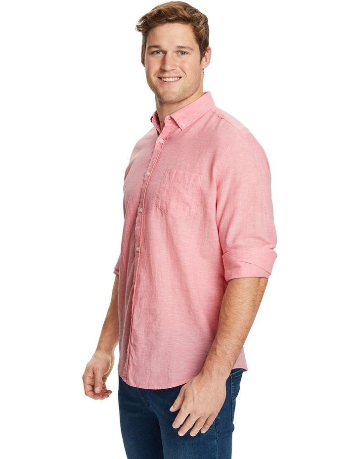 Serge Melange Linen Shirt image 2