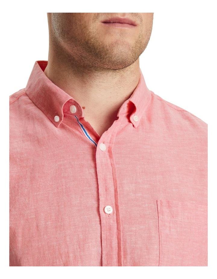 Serge Melange Linen Shirt image 4
