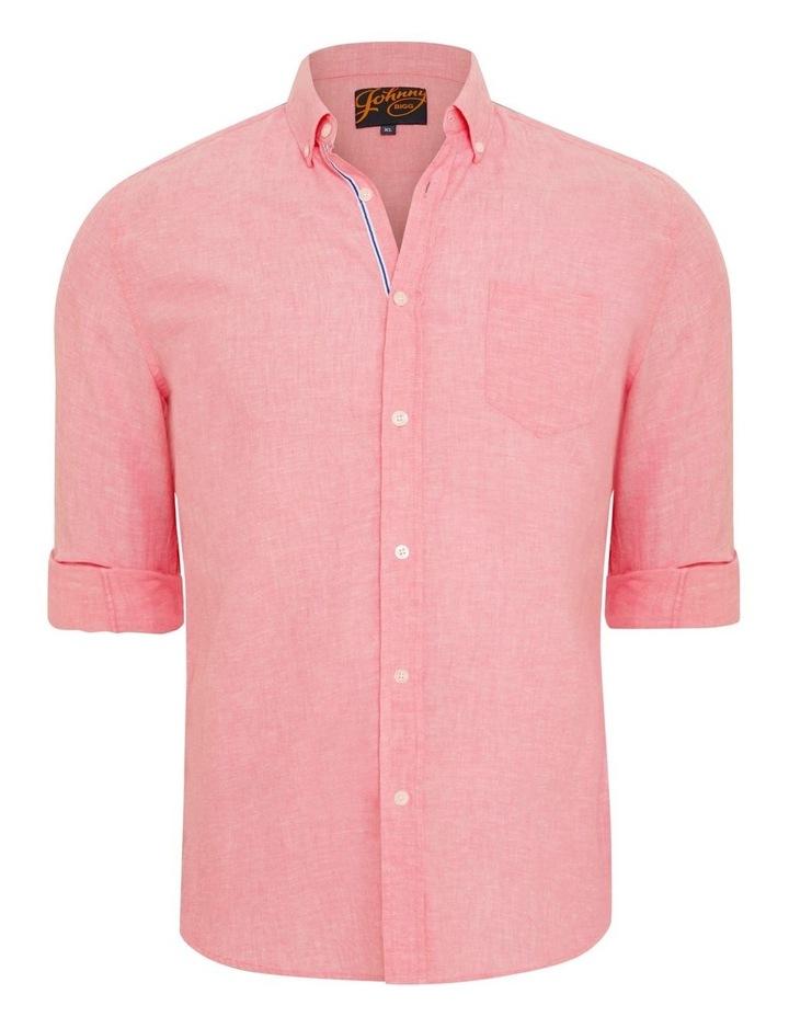 Serge Melange Linen Shirt image 6