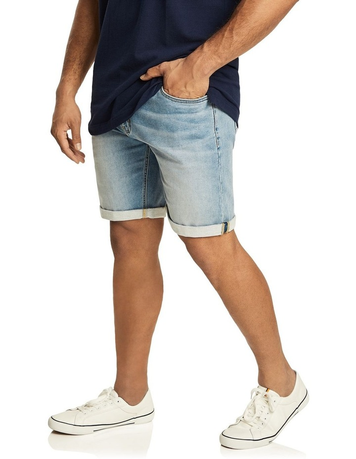 Ray Knit Denim Short image 2